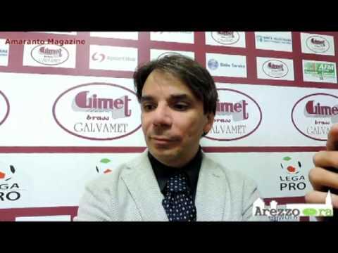 Arezzo-Real Vicenza 2-0 / Intervista a Capuano
