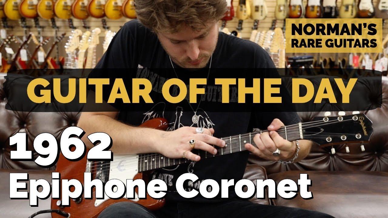 Guitar of the Day: 1962 Epiphone Coronet Cherry   Norman's Rare Guitars