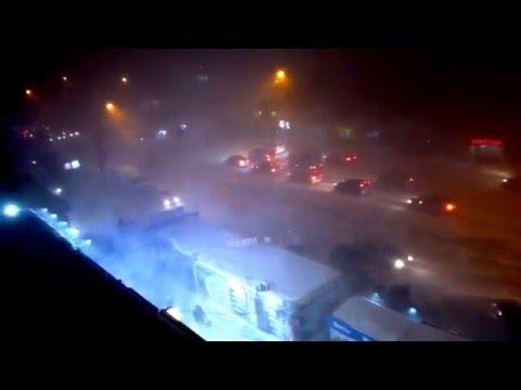 Жесткий Буран посетил Новосибирск!