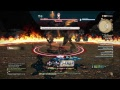 Final fantasy 14 Samurai vs ifrit gameplay (solo)
