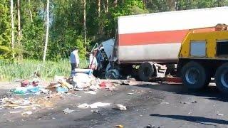 Аварии фур, грузовиков Июнь 2015