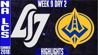 Video CLG vs GGS Highlights | NA LCS Summer 2018 Week 9 Day 2 | CLG vs Golden Guardians MP3, 3GP, MP4, WEBM, AVI, FLV Agustus 2018