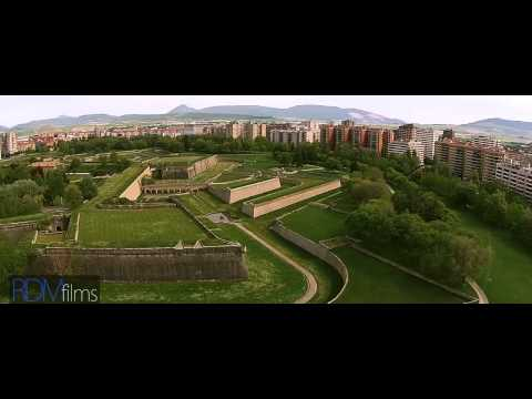 Pamplona Drone Video