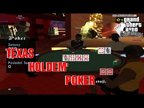 TEXAS HOLDEM POKER V GTA SA-MP! (GTA San Andreas Multiplayer #17)