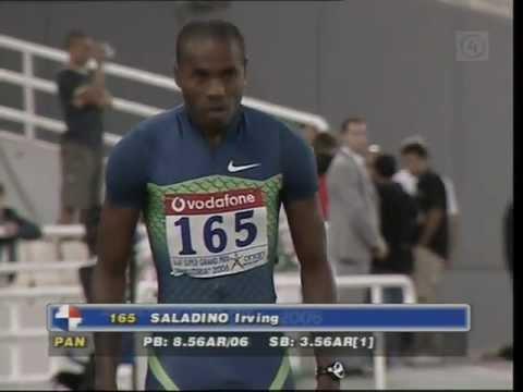 Long Jump - Irving Saladino - 8.65m +3.3w