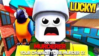 LUCKY ROBLOX MURDER MYSTERY 2 GLITCH *IT WORKS*