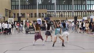 Red Velvet 레드벨벳_빨간 맛 (Red Flavor) Performance at NTUFEST 2017 by Cranberry Cookies, NTUKDP