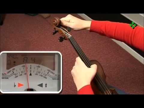 Curso Violin en Español 1 – Afinación