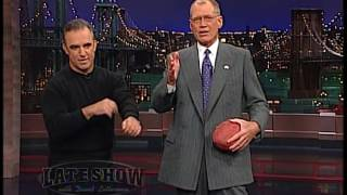 Jay Thomas on the Late Show with David Letterman #13 - Dec 20, 2001