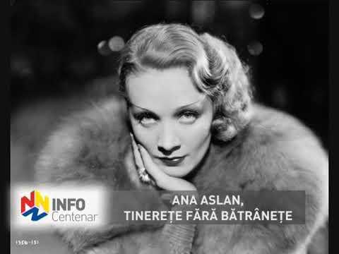Ana Aslan, tinereţe fără bătrâneţe