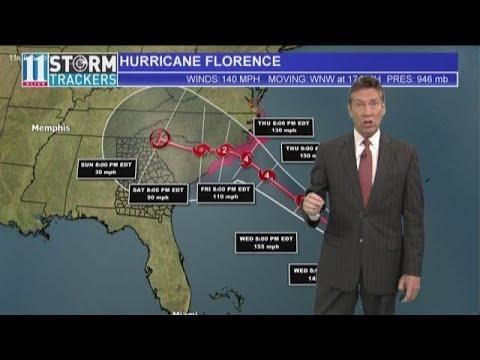 How Hurricane Florence could impact Georgia