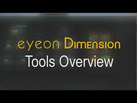 eyeon Dimension Tools Overview