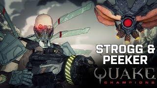 Видео к игре Quake Champions из публикации: В Quake Champions добавят нового героя, карту и оружие