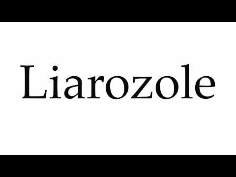 How to Pronounce Liarozole
