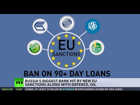 sanctions - The European Union has imposed sectorial sanctions on five Russian banks, including the country's biggest, Sberbank, as part of economic steps that Europe, a...