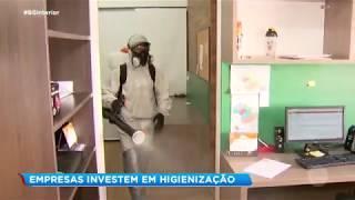 Record TV Paulista investe em higienização