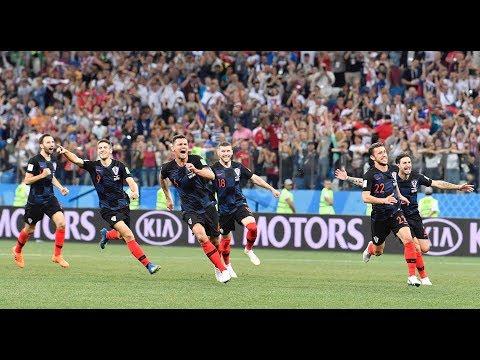 Fußball-WM 2018 Achtelfinale: Kroatien dank Elfmeter- ...