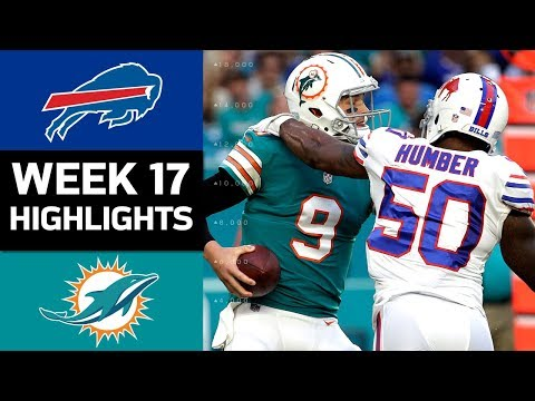 Video: Bills vs. Dolphins | NFL Week 17 Game Highlights