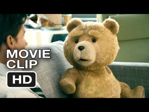 Ted Movie CLIP #2 - White Trash Name  -Mark Wahlberg, Mila Kunis, Seth MacFarlane Movie HD Video