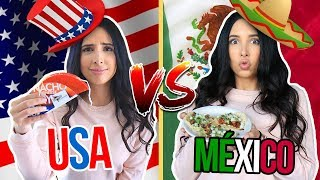 Video USA MEXICAN FOOD vs REAL MEXICAN FOOD - I DIDN'T LIKE IT!! | Mariale MP3, 3GP, MP4, WEBM, AVI, FLV Agustus 2018