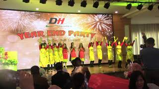 CaTập thể ca múa nhạc của DH logistics Hải Phòng tất niên 2017