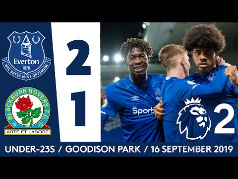 Video: SIMMS SEALS WIN AT GOODISON | U23 HIGHLIGHTS: EVERTON 2-1 BLACKBURN