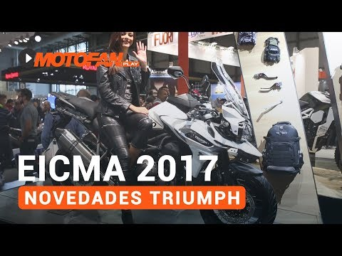 Vídeos de '(VIDEO) Las novedades de Triumph en el salón EICMA de Milán 2017'