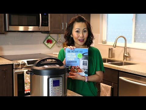 Instant Pot Electric Pressure Cooker Cookbook | REVIEW - Cookbooks & Company