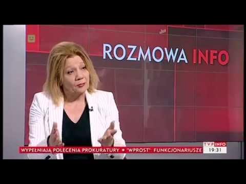prof. E. Mączyńska o roli NBP w finansach krajowych (INFOrozmowa TVP Info, 18.06.2014)