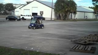 5. 8342   2008 Tomberlin E Merge Electric 2 Seat Passenger Cart STREET LEGAL