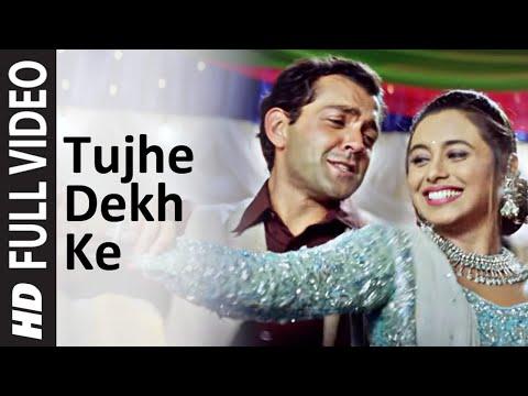 Download Tujhe Dekh Ke Full Song | Badal | Bobby Deol | Rani Mukherjee HD Mp4 3GP Video and MP3