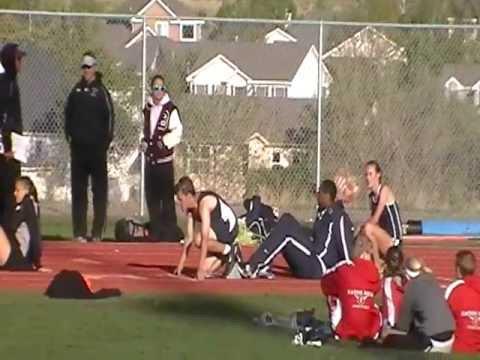 Weld County Track Championships. (300m Hurdles) Josh Shoeman