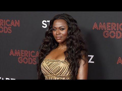 "Yetide Badaki ""American Gods"" Season 2 Premiere Red Carpet"