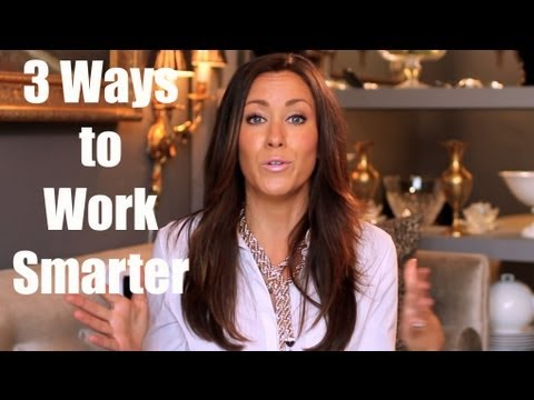 Watch '3 Way to Work Smarter'