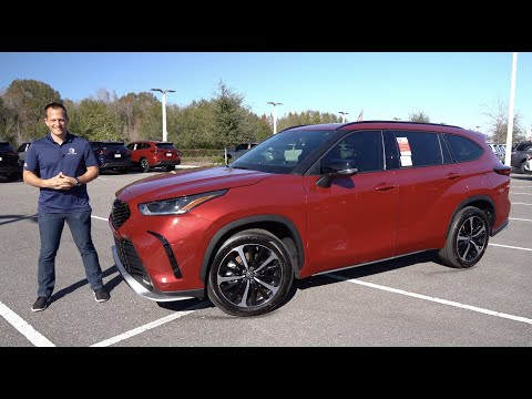 Is the NEW 2021 Toyota Highlander XSE the BEST sport SUV to BUY?