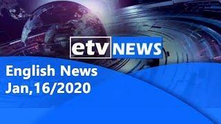 English NewsJan,16/2020 |etv