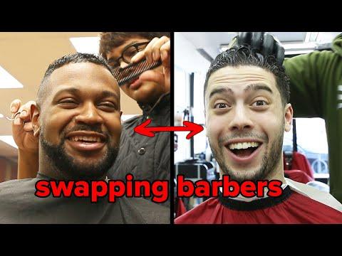 Hairdresser - Friends Swap Barbers
