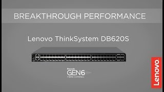 Lenovo DB620S SAN Switch: Product Video