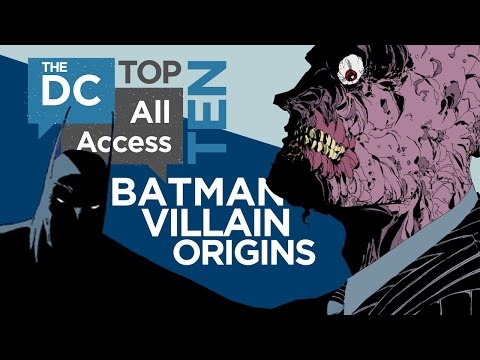 ORIGINS - With the premiere of GOTHAM now only a few days away, we decided to celebrate their upcoming origin stories by listing off our Top 10 Batman Villain Origins as seen in the comics. Did your...