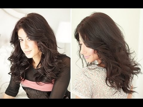 Easy Party Curls Hairstyle