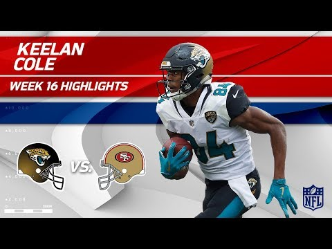 Video: Keelan Cole Highlights | Jaguars vs. 49ers | NFL Wk 16 Player Highlights