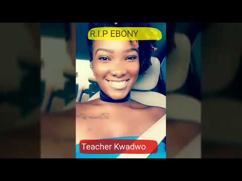 """Teacher Kwadwo together with LIWIN,AKROBETO & AGYA KOO pays tribute to #EBONY 👑"""