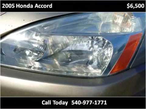 2005 Honda Accord Used Cars Roanoke VA