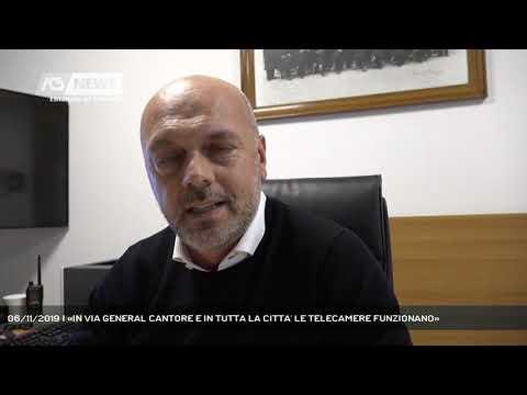 06/11/2019 | «IN VIA GENERAL CANTORE E IN TUTTA LA CITTA' LE TELECAMERE FUNZIONANO»