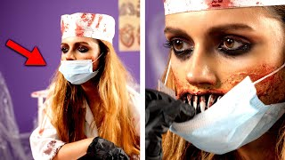 6 Scary Halloween Makeup and DIY Costume Ideas