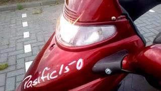 Bisan Lifan Pasific 150 4-takt motorscooter