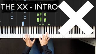 The XX - Intro | Piano tutorial | Ноты