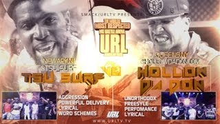 Ultimate Rap League | Hollow Da Don vs. Tsu Surf