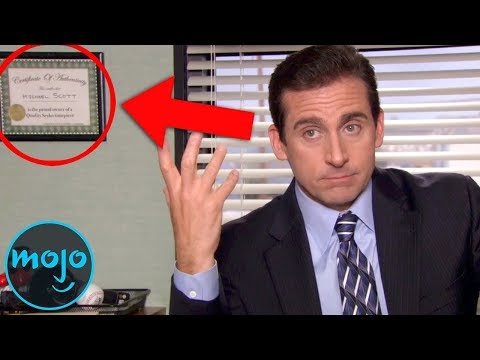 Top 10 Small Details in The Office You Never Noticed (видео)