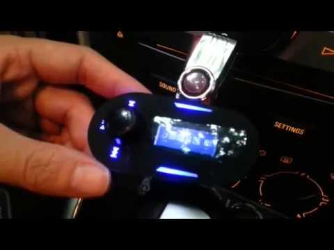 Car Wireless FM Transmitter Modulator MP3 Player USB/SD/MMC